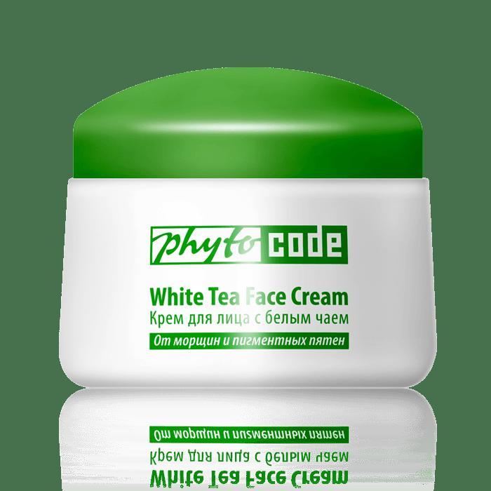 Крем для лица с белым чаем - УФ-защита
