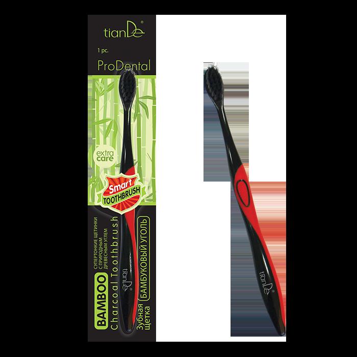 Зубная щетка «Бамбуковый уголь»