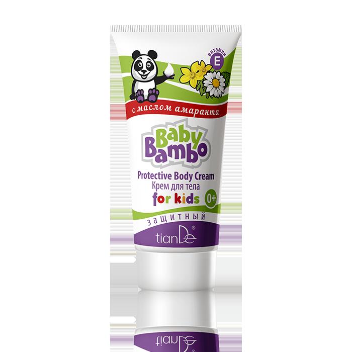 Защитный детский крем для тела Baby Bambo